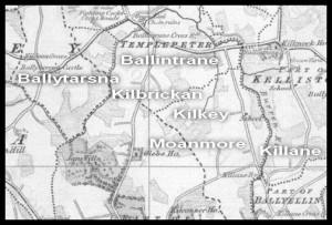 Kilkea Townland area circa 1840s