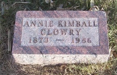 Annie Kimball Clowry 1973 - 1956