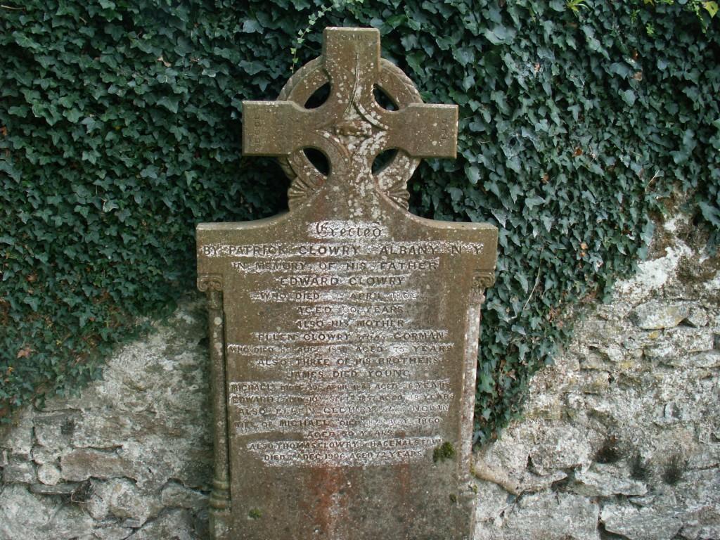 Edward Clowry / Ellen Gorman & Family - Myshall RC Graveyard, Carlow