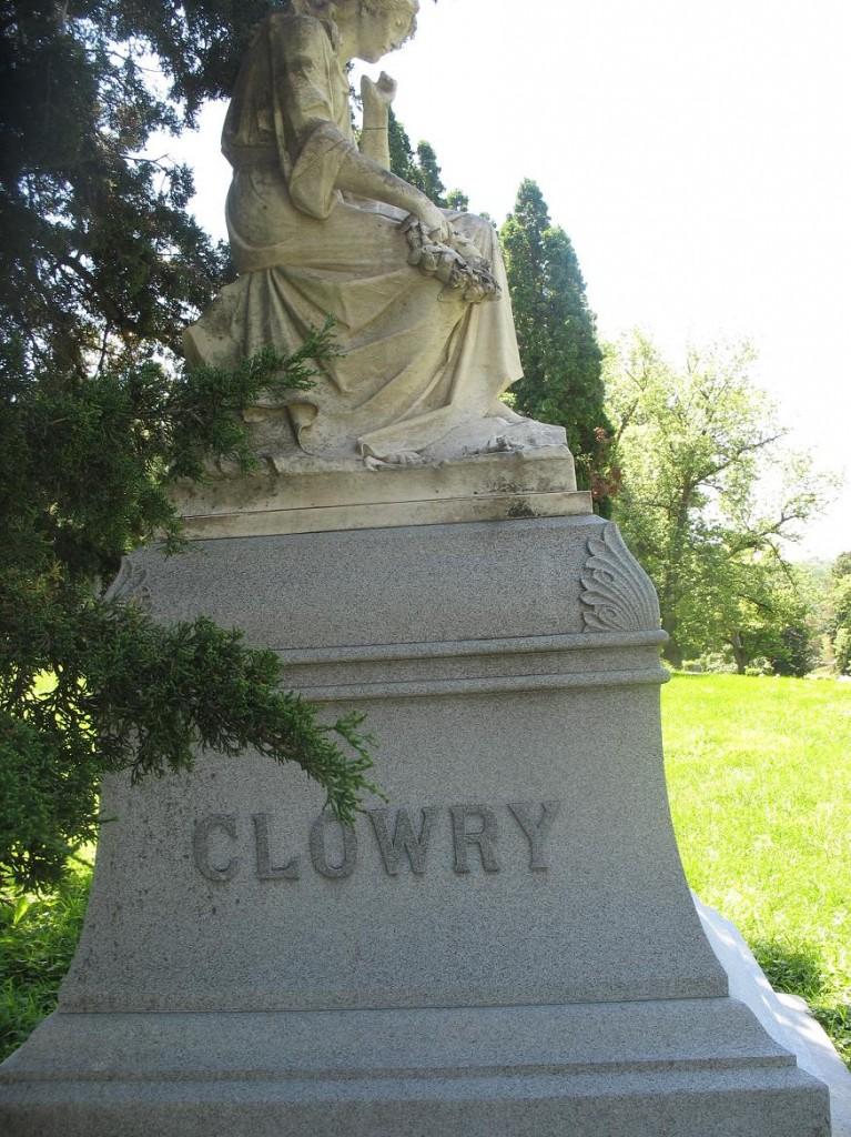 Col Robert C Clowry Grave