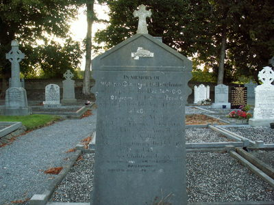 William Clowry Gravestone